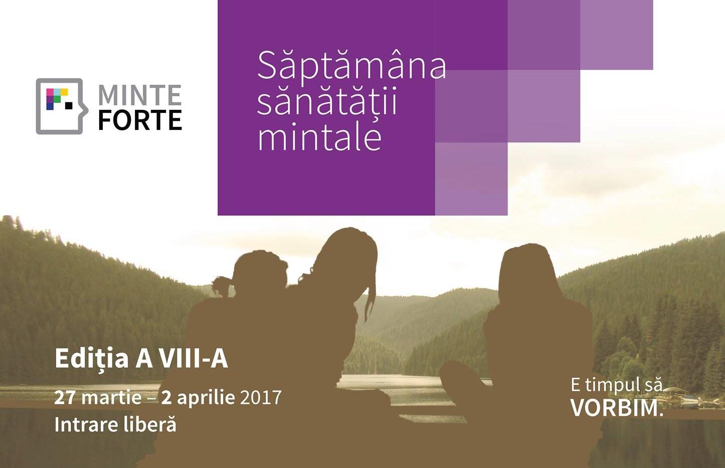 """Conferința """"Căi spre dezvoltarea personală"""" – organizată de Organizația Minte Forte"""